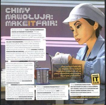 Przewodnik konsumencki: Chiny nawołują: Make IT fair.