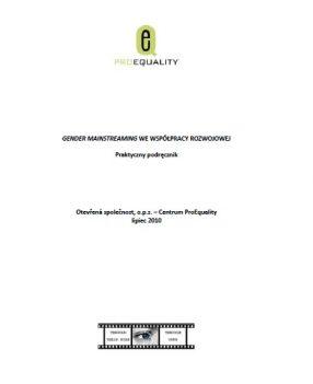 Praktyczny podręcznik: Gender mainstreaming we współpracy rozwojowej. 1