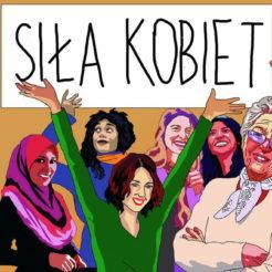 Siła Kobiet! Siławróżnorodności isolidarności!