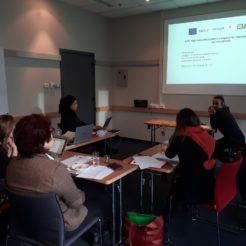 Spotkanie robocze organizacji partnerskich z Włoch, Hiszpanii i UK