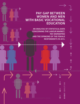 Report: Pay gap between women and men with basic vocational education