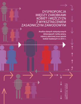 Report: Pay gap between women and men with basic vocational education 1