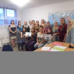 Polish lessons for women migrants