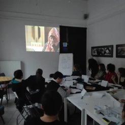 Spotkanie sieciujące aktywistek z różnych krajów 01.2018