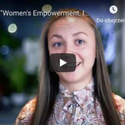 "Zakończenie projektu ""Women's Empowerment, Integration and Participation"" - film"